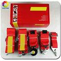 2 piece New type FIA 2020 Red 6 Point 3 inches Racing Seat Belt RACING HARNESS SAB06 (Red,blue,black)