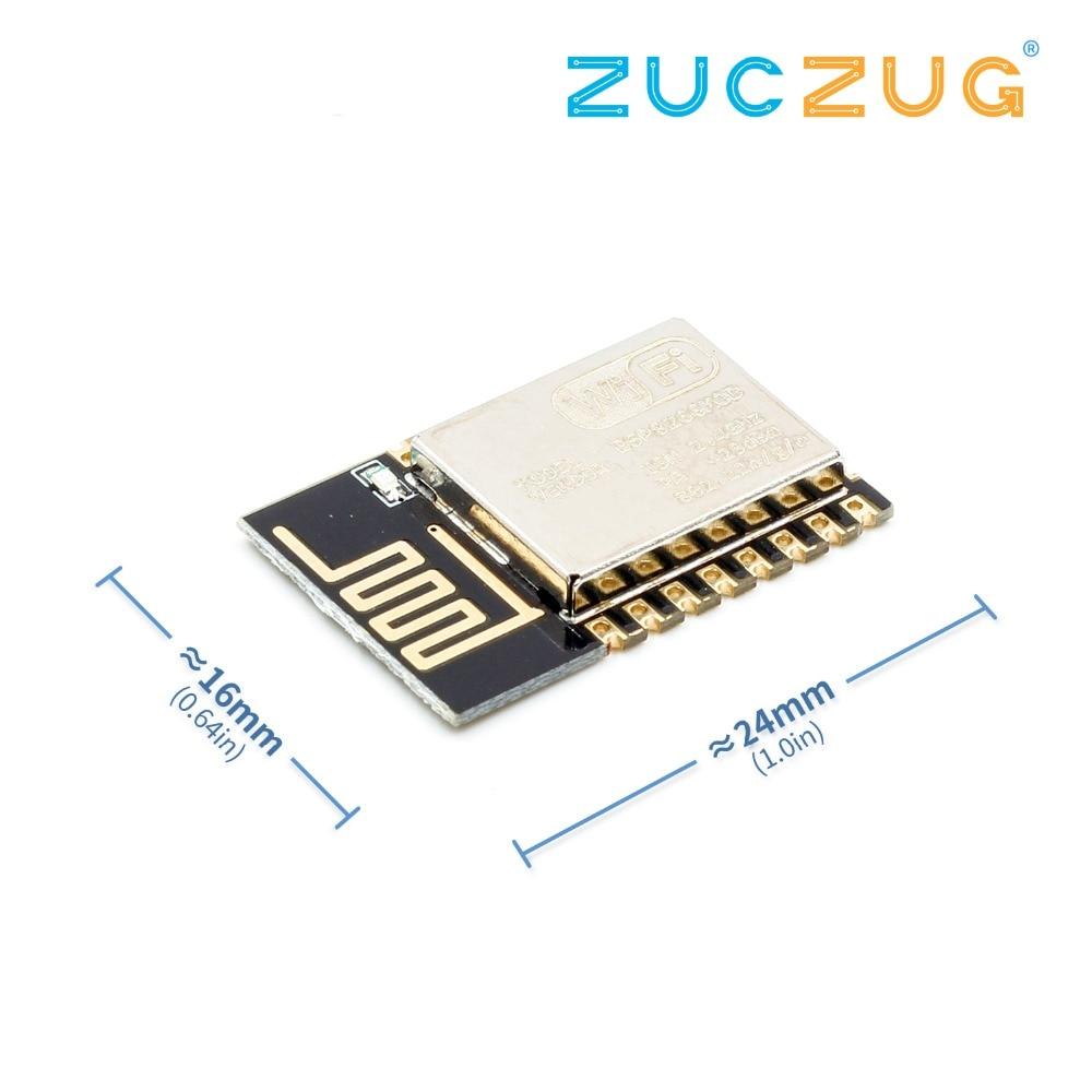 10PCS ESP8266 ESP-12E Wireless Remote Serial Port WIFI Module Transceiver Board