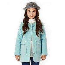 Девушки шерстяное пальто девушки зимняя куртка теплый марка дети пальто девушки парка детская одежда принцесса пальто рождественский подарок