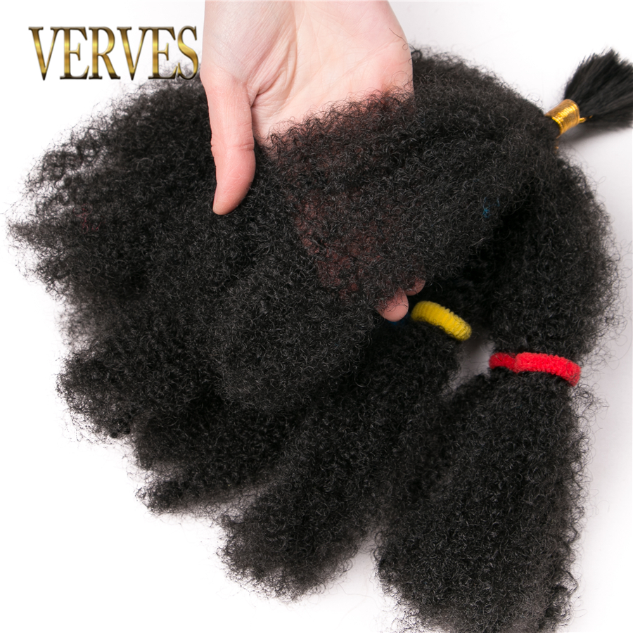 VERVES Crochet Hair curly Extensions 12 inch,Synthetic ombre braiding hair Afro kinky bulk twist braids Blonde bundles bug,black