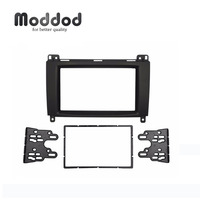 Double Din Stereo Panel for Benz A CLASS W169 B CLASS W245 Fascia Radio Dash Mounting Installation Trim Kit Face Frame
