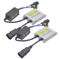 2pcs 55W Digital Slim HID Ballast Xenon Conversion Kit AC G500 Car Headlight Electronic Ballast Replacement
