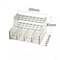 Dental Adhesive Resin Syringe Glass Ionomer Cement Luting Organizer Holder Case