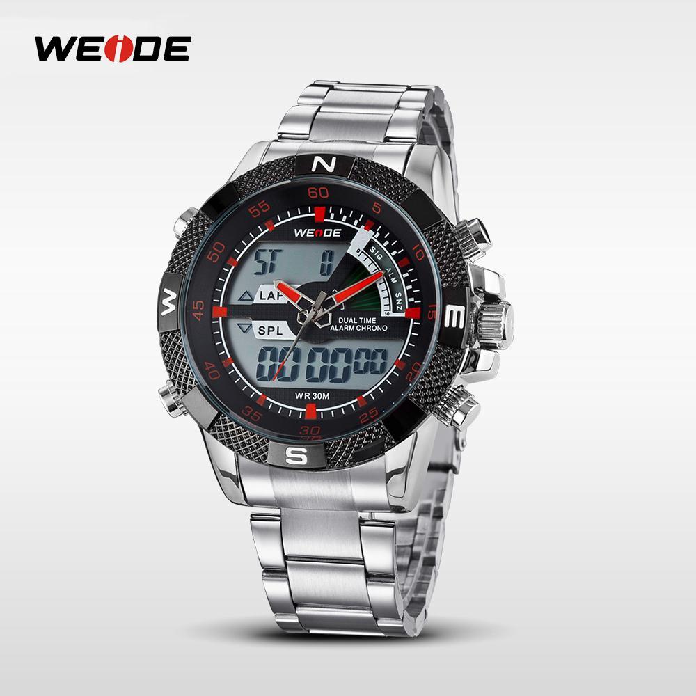 WEIDE Famous Brand Sport Complete Kalender Herenhorloges 3ATM - Herenhorloges - Foto 2
