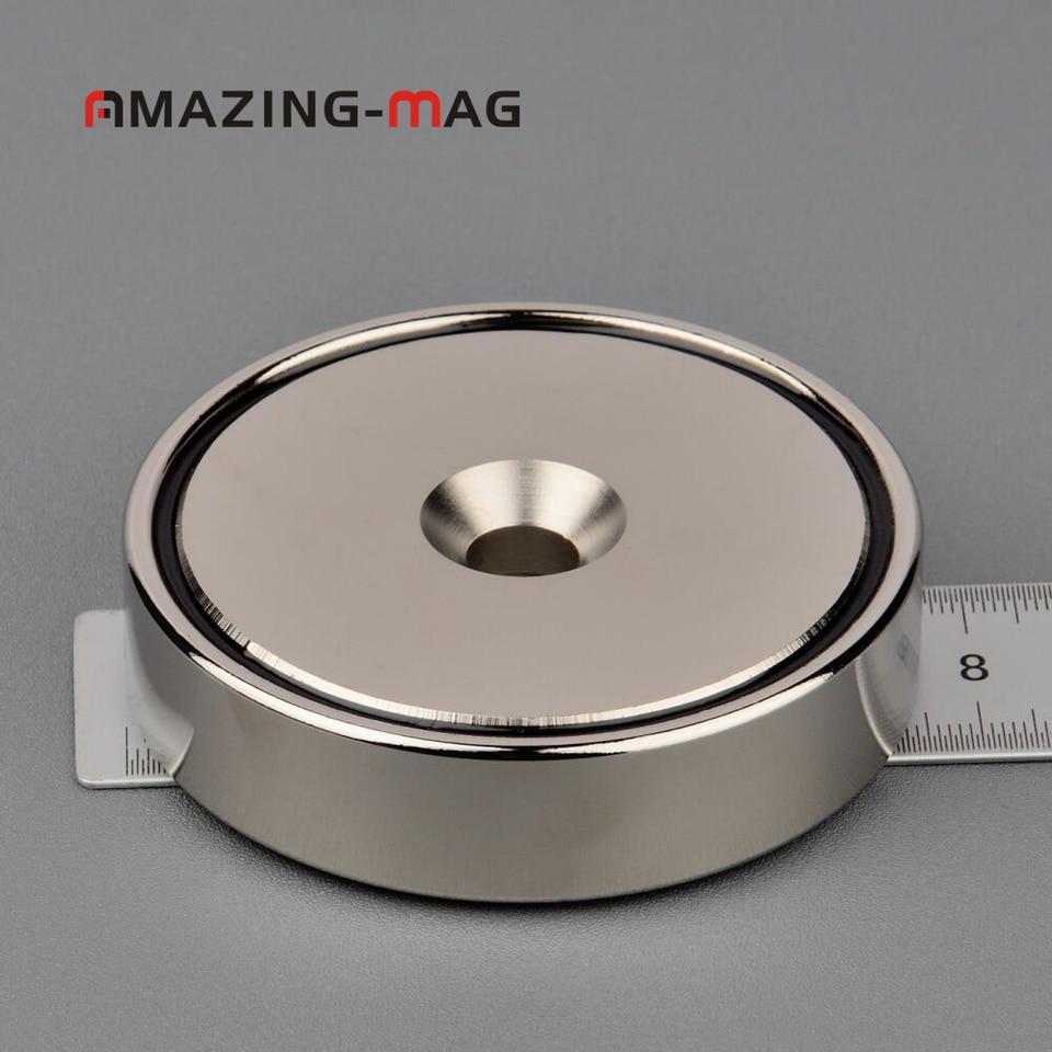 120kg Recovery Magnet Fishing Treasure Metal Detector with 30 Metre Rope