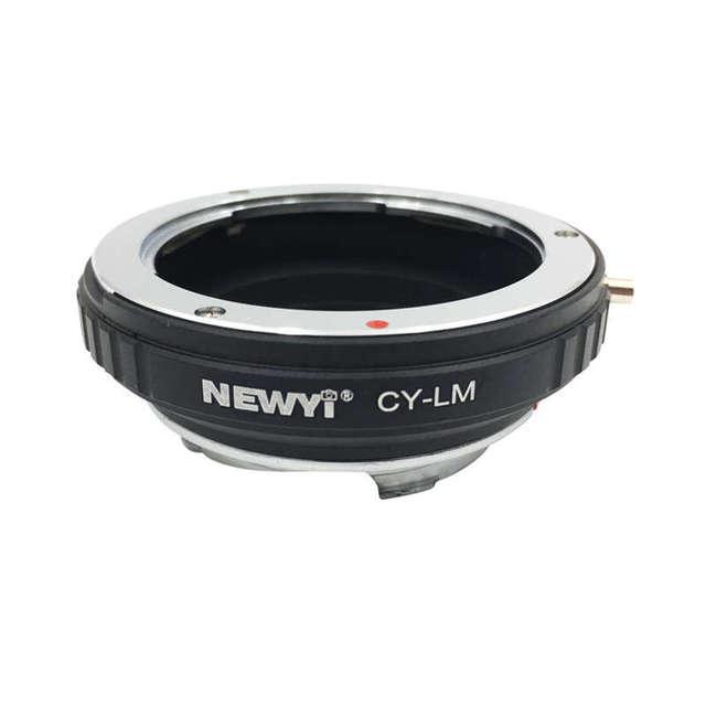 Newyi Cy Lm Adattatore per Contax Cy Lens per Leica M9 M8 con Techart Lm Ea7Ii Obiettivo Della Fotocamera Anello di Accessori