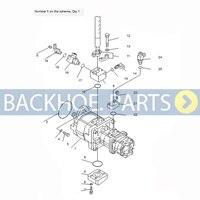 Pompe hydraulique 705-56-34360 pour pelle Komatsu   Pompe hydraulique-56-