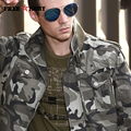 Free Army Brand Mens Winter Jackets Stand Collar Autumn Winter Military Camouflage Mens Jackets And Coats Casual Ms-6052B