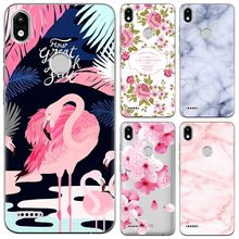 Nieuwe Aankomst Telefoon Case Voor Infinix Smart 2 (X5515) 5.45-inch Fashion Design Art Painted TPU Soft Case Silicone Cover(China)