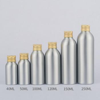 Aluminium Bottle Supplier 250ml Cosmetic Cream Packaging Water Bottles for Outdoor Sports Activities