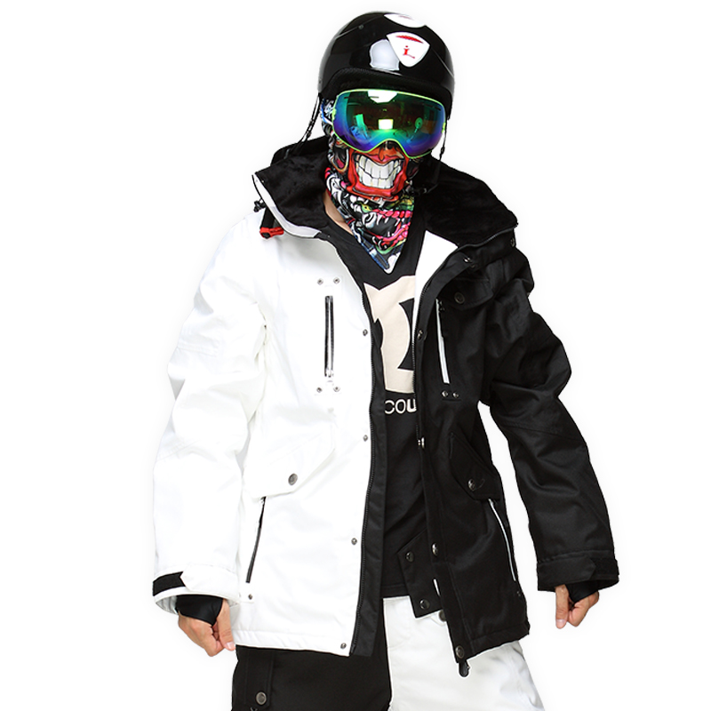chaquetas nieve hombre camuflaje