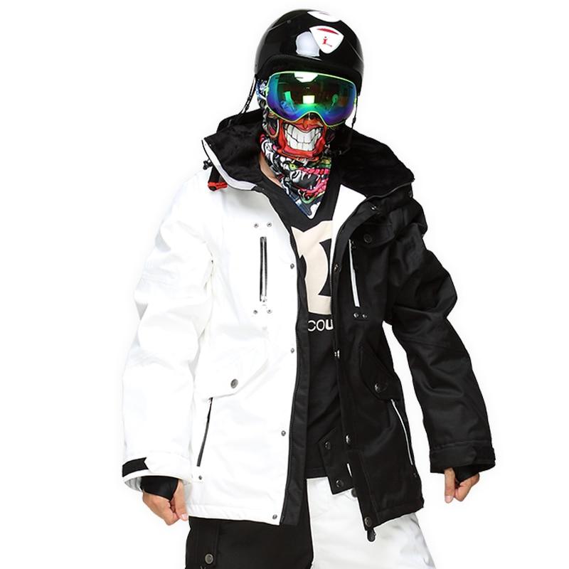Marque StormRunner vestes de Ski hommes vestes de snowboard chaud nouveau manteau de neige respirant coloré Camouflage mâle veste de Ski