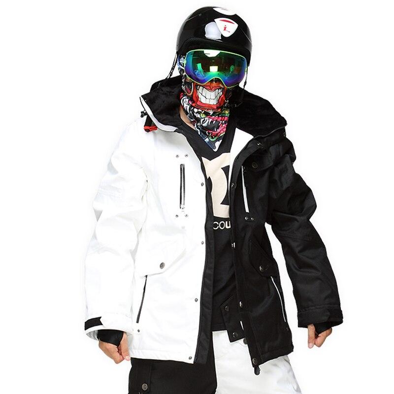 StormRunner бренд лыжные Куртки Для мужчин Сноубординг Куртки теплый 2018 новые зимние пальто дышащий Красочные камуфляж мужской Лыжная куртка