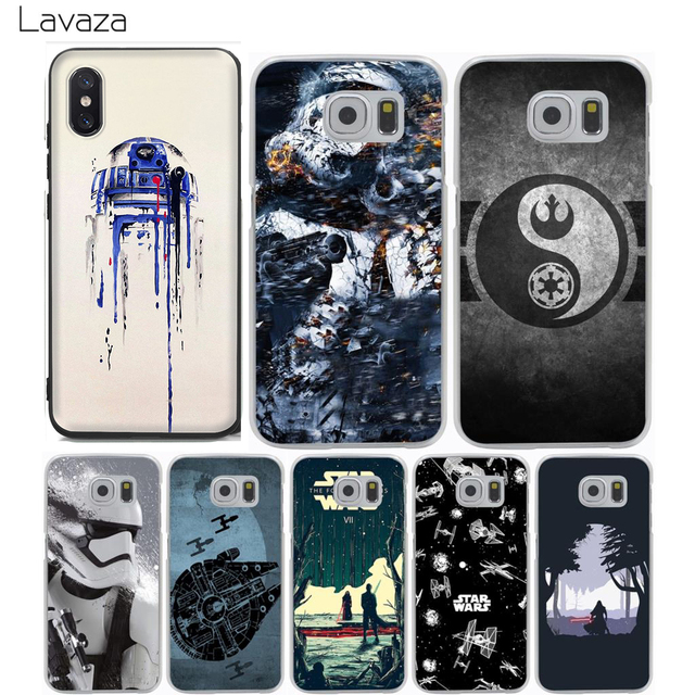 more photos 9fd07 f2027 US $2.25  Lavaza Phone Cases Star Wars Hot Sale Case for Samsung Galaxy S9  S8 S7 S6 S5 Edge Plus-in Half-wrapped Case from Cellphones & ...