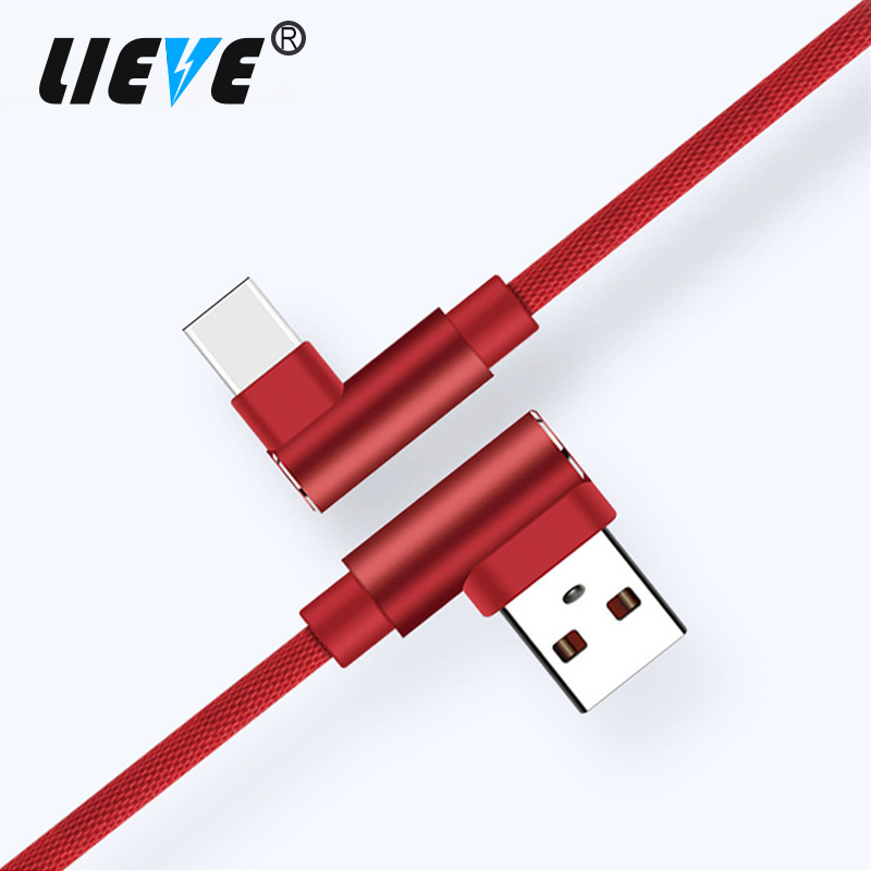 LIEVE 1M, 2M USB Type C Cable Fast Charging For Samsung USB C Cable Data Sync Cable For Galaxy S8 Note 8 Xiaomi 6 Charger Cable
