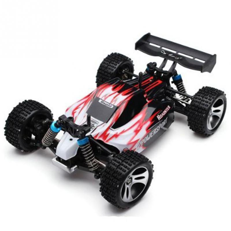 Original Wltoys A959 1/18 RC Car 2.4G 4WD RTR Off-Road Buggy wltoys k979 super rc racing car 1 28 2 4ghz 4wd off road suv