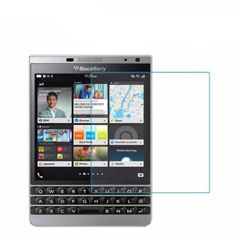 Pour Blackberry passeport Q30 Film avant transparent 9 H protecteurs d'écran en verre trempé pour Blackberry passeport 2nd Silver Edition