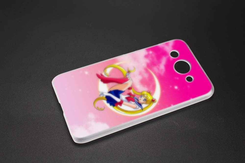 Binyeae Sailor Moon Anime Hard Transparent Case Cover Coque Shell For Huawei Y3 Y5 Y6 Ii 2017 Pro Half-wrapped Case