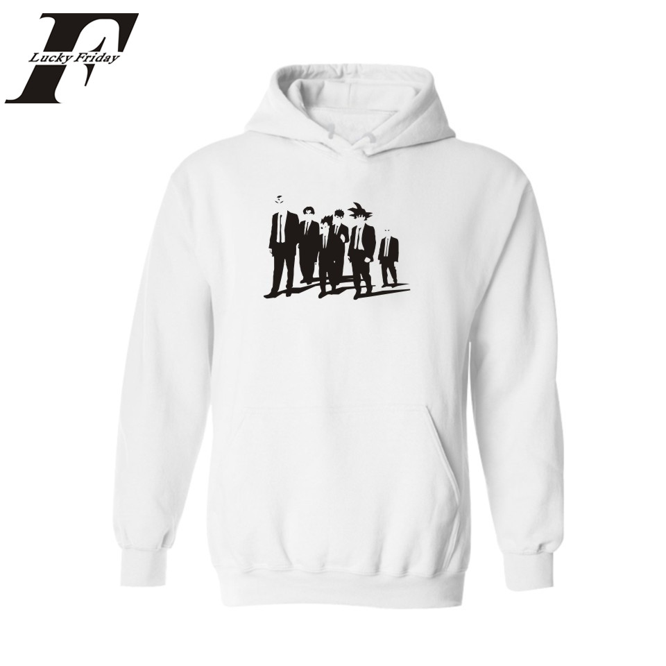 US $14.99 30% OFF|Z Dragon Ball Super Saiyan Hoodies Men 4xl 3xl Hoodies Sweatshirts with Fashion Hoodies Men Hoody White Black in Hoodies &