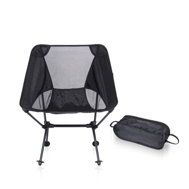Chaise de Camping intérieure extérieure moderne pour pique-nique chaises de pêche en alliage d'aluminium chaises de lune pliées pour jardin, plage, tourisme
