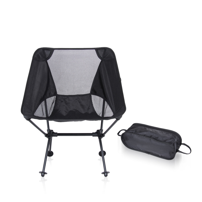 Modern Outdoor Indoor Camping Chair For Picnic Fishing Chairs Aluminum Alloy Folded Moon Chairs For Garden,Beach,tourism