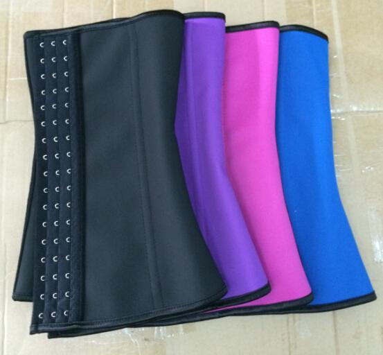 Coldker corset Plus Size Latex Waist Corset Body Shapers  100% Latex Waist Cincher Corset Postpartum Waist Trainer