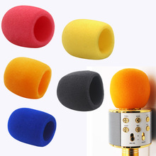 Microphone Foam sponge cover Karaoke wirless microphone protection hat Isolate saliva for WS858  E106