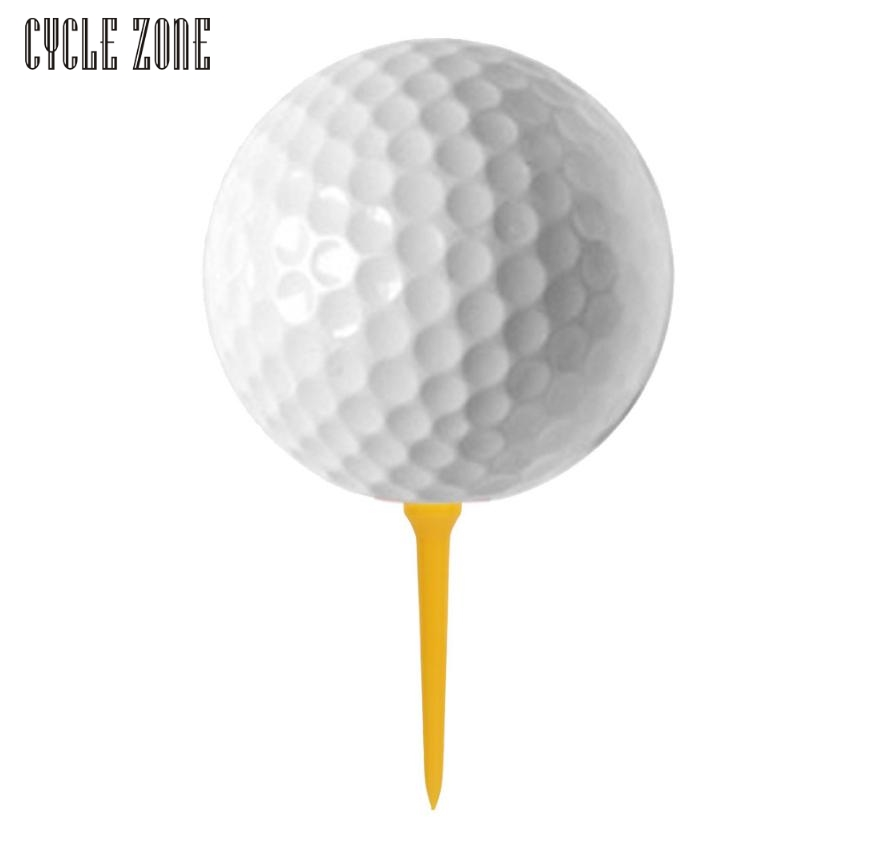 Activing 100Pcs 70mm Double-deck Golf Tee Golf Ball Tees Drop Shipping OCT28