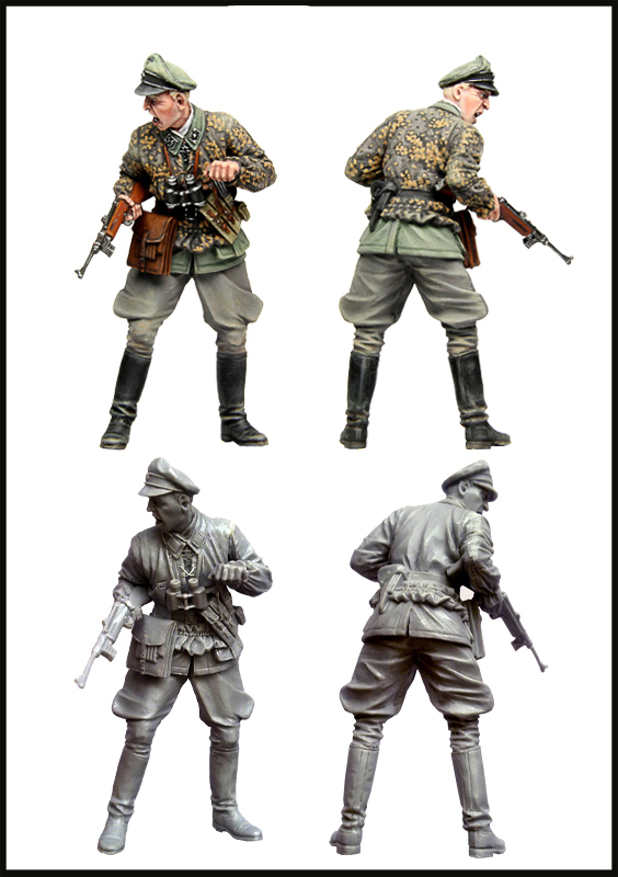 цена на pre order-Resin toys Waffen SS Officer Free shipping