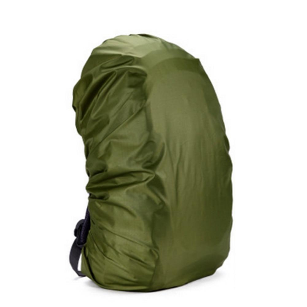 80L आउटडोर कैम्पिंग लंबी पैदल यात्रा साइकिल चालन धूल बारिश कवर पोर्टेबल उच्च गुणवत्ता निविड़ अंधकार बैग विरोधी चोरी 210D बारिश बैग कवर