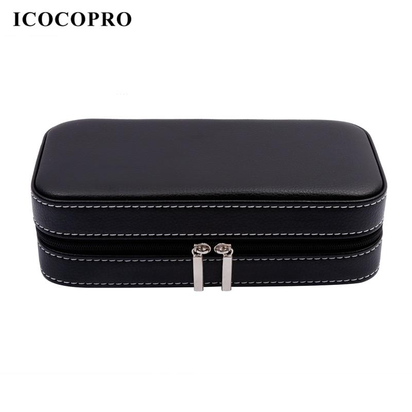 ICOCOPRO Jewelry Storage Box Watch Gift Box Women Men Necklace Ring