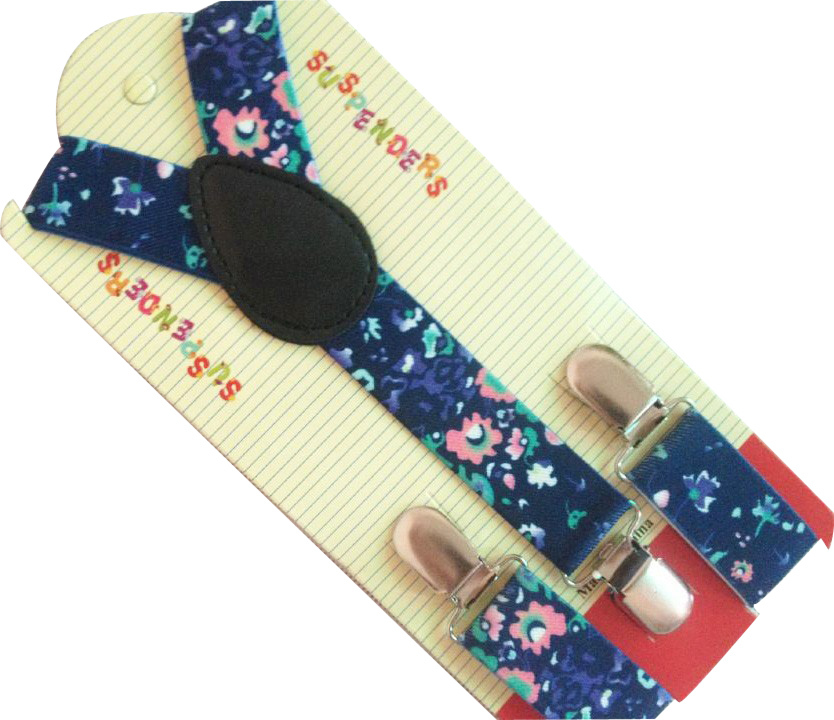 Free Shipping 2019 New Cute Fashion Adjustable Clip-On  Floral Braces For Children Girls Suspender