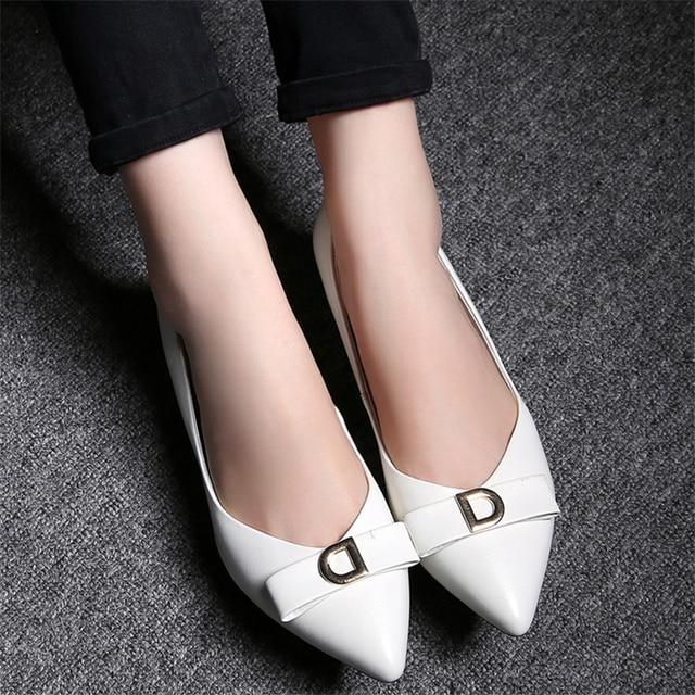 Pumps Genuine Leather Shoes Woman's shoes Big 40 41 42 Small shoes 31 32 33 High Heel 4.5CM EUR Size 30-44