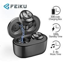 FEIKU Bluetooth Headset A6 Bluetooth 5.0 Wireless Headset Waterproof Bluetooth Headset Game Headset Suitable for All Smartp mi bluetooth headset basic