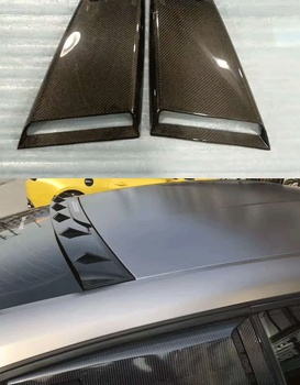 Подходит для ford mustang 2015-2017 углеродного волокна жалюзи боковые окна, маленькие окна, MP жалюзи, заднего стекла украшения