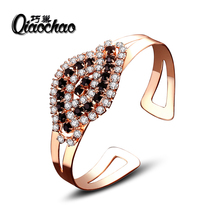 High Quality Rhinestone Crystal Bangle&Bracelet for Women Men Tin Alloy Copper Plated Exquiste Made Luxurious Jewelry Pulseira