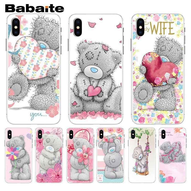 Babaite טאטי טדי אתה Beardesign סגנון עיצוב טלפון מקרה עבור iphone 8 8 בתוספת ו 7 7 בתוספת 6 s 6 s בתוספת 6 6 בתוספת 5S טלפונים סלולריים