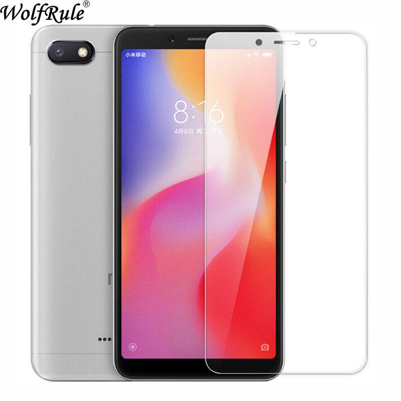 2PCS Screen Protector Glass <font><b>Xiaomi</b></font> <font><b>Redmi</b></font> <font><b>6</b></font> Tempered Glass For <font><b>Xiaomi</b></font> <font><b>Redmi</b></font> 6A Glass Anti Scratch Film <font><b>Redmi</b></font> <font><b>6</b></font> 6A Phone Film image