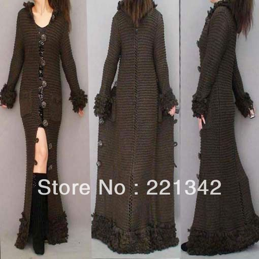 Women's Maxi Sweater Coat