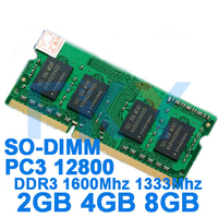 Brand Memory DDR3 Ram 1600Mhz 2GB 4GB 8GB For Laptop Notebook Sodimm Memoria Compatible With DDR