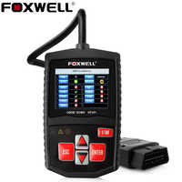 Foxwell NT201 Automotive OBD2 Scanner in Russian Engine Code Reader Turn Off MIL OBD 2 Car Diagnostic Tool Better than ELM327