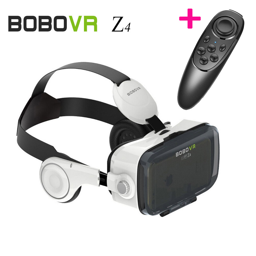 "XiaoZhai Z4 3D VR <font><b>Glasses</b></font> Bobovr BOBO Immersive <font><b>Virtual</b></font> <font><b>Reality</b></font> Helmet <font><b>Case</b></font> <font><b>with</b></font> <font><b>Remote</b></font> Bluetooth Controller for 5~6"" Smartphone"