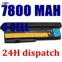 7800mAh Battery For LENOVO ThinkPad X200 X200S X201 X201i X201S 42T4834 42T4835 43R9254 42T4537 42T4541