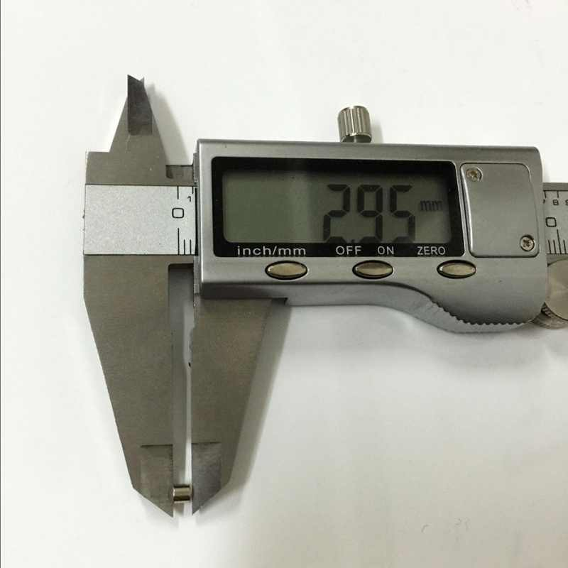 50 Unidades/pacote 3mm x 3mm Ímã De Neodímio N50 Materiais Magnéticos Mini Pequeno Disco Redondo 1567