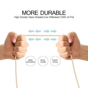 Image 4 - Câble de données Compatible avec câble USB tressé Android à charge rapide pour Xiaomi Redmi note 5 plus 4x pour Huawei pour Samsung