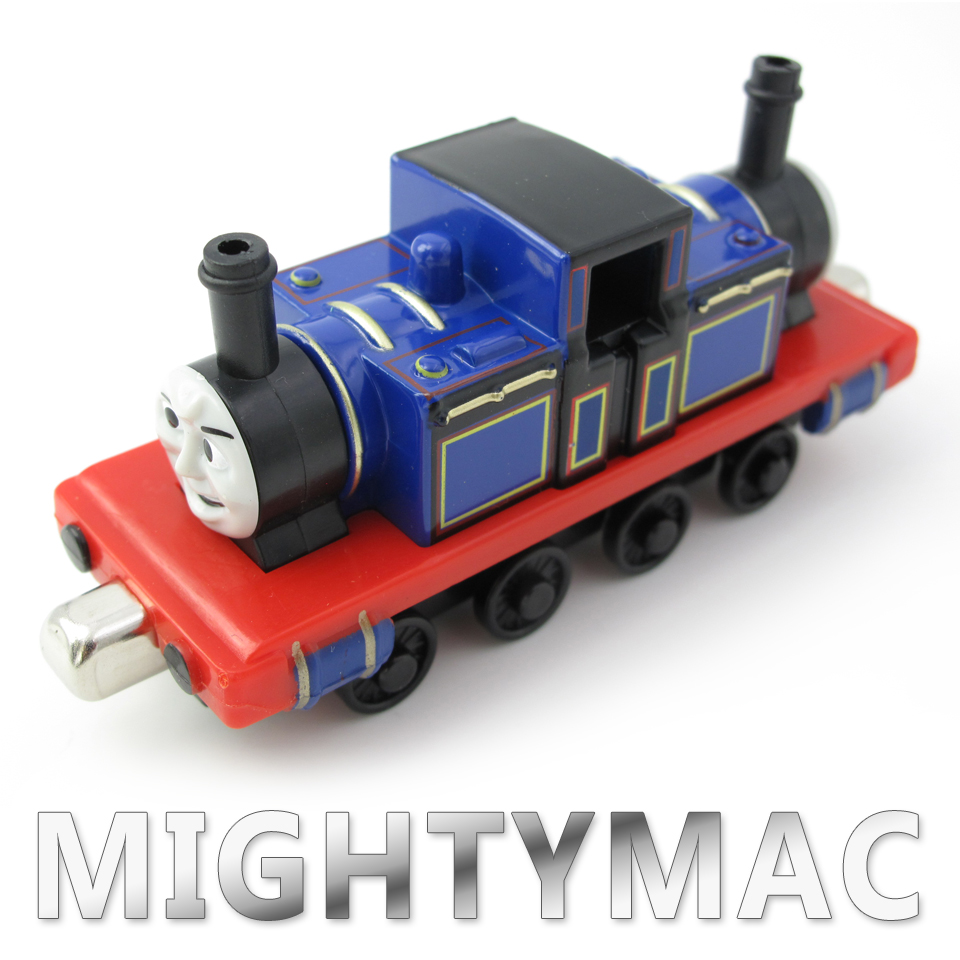 Diecasts Vehicles Thomas T090D MIGHTYMAC Thomas And Friends Magnetic Tomas Truck Locomotive Engine Railway Train Toys for Boys
