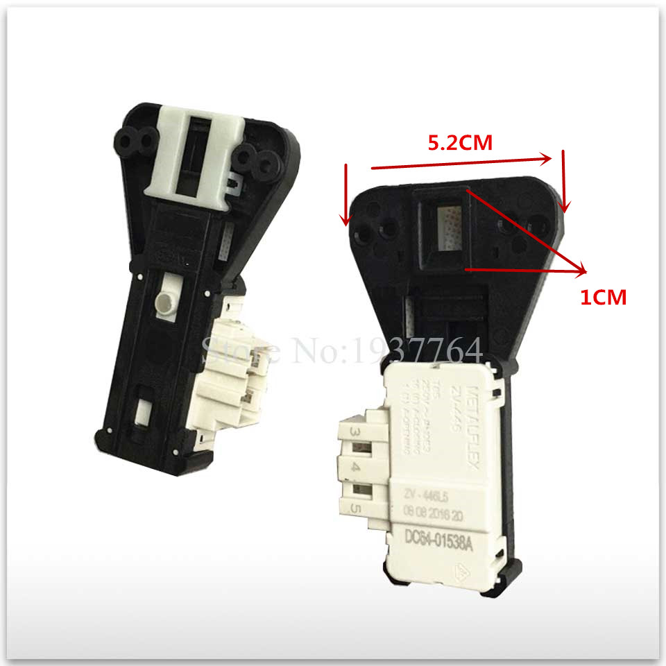 1pcs new for Samsung washing machine parts time delay switch door METALFLEX ZV-446 door lock original new for lg drum washing machine door hinge 42741701 1pcs