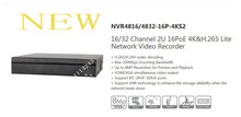 DAHUA 16/32 Channel 2U 16PoE 4K&H.265 Lite Network Video Recorder Without Logo NVR4816-16P-4KS2/NVR4832-16P-4KS2