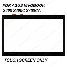 FULL TESTED for ASUS VivoBook S400 S400C S400CA digitizer panel touch screen 14