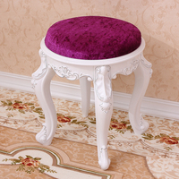 15%Living room change shoes stool European fashion dressing stool makeup stool chair bedroom wooden bench